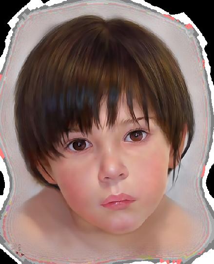 visage enfant